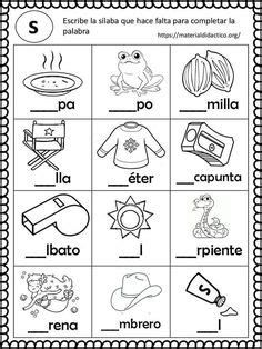 Printable Spring Quiet Book - Activity Book for Pre-K and K Learning Spanish For Kids, Spanish Lessons For Kids, Spanish Teaching Resources, Math For Kids, Bilingual Classroom, Bilingual Education, Classroom Language, Summer Worksheets, Science Worksheets