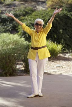 Advanced Style | This woman is 91 and having fun!  See more at the Advanced Style website.