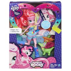 How do I get My Little Pony Equestria Girls Rainbow Rocks Pinkie Pie and Gummy Snap Set for Christmas Gifts Idea Promotion My Little Pony Dolls, All My Little Pony, Hasbro My Little Pony, My Little Pony Friendship, Pinkie Pie, My Little Pony Equestria, Equestria Girls, Girl Toys Age 5, Toys For Girls