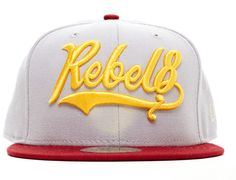 8ed738fbd12 Lefty 59Fifty Fitted Cap by REBEL 8 x NEW ERA Fitted Baseball Caps