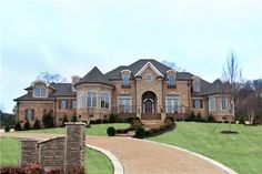 dream homes tennessee   Home Miscellaneous Mansion Posts 2 Newly Built Home In Brentwood, TN