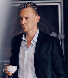 Do you want a cup of coffee?- Tom Hiddleston