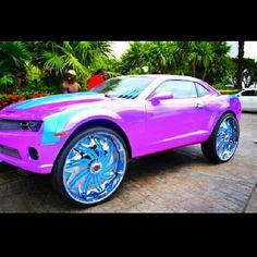 ♡♥ this purple car