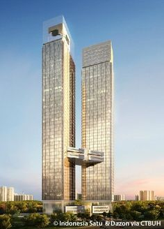 Indonesia Satu Tower 1, Jakarta | 303 m, Under Construction-completion 2019