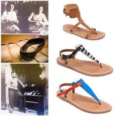 L'Exception Française: Le Jeu des 7 familles des souliers d'été. http://www.plumevoyage.fr/magazine/voyage/luxe/lexception-francaise-juillet-2014-le-jeu-des-7-familles-des-souliers-dete/  French Savoir-Faire: The Seven Families of Summer Shoes. http://www.plumevoyage.fr/en/magazine/voyage/luxe/french-savoir-faire-july-2014-the-seven-families-of-summer-shoes/  #SummerShoes #BeachWear #AtelierRondini #KJacques #StrappySandal #GladiatorFlats #Espadrille #ArtsofSoule #DonQuichosse #Handmade