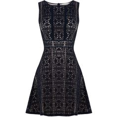 OASIS Lace Skater Dress (4.600 RUB) via Polyvore featuring dresses, grey, lacy dress, oasis dress, gray skater dress, short dresses и lace dress