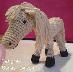 Crocheted Horse Patterns