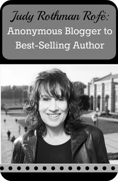 Judy Rothman Rofe- From Anonymous Blogger To Best Selling Author - Anonymous blogs? Blogging serendipity? Speaking engagements? Anthologies? Being published? Blogging tips? Book tips? Having your book optioned as a possible movie? This interview has it all! Marketing Goals, Media Marketing, Social Media Trends, College Application, Tips & Tricks, Online Entrepreneur, Blogging For Beginners, Pinterest Marketing, Anonymous