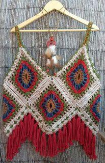 delightful crochet top