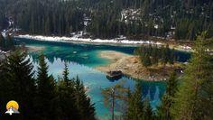 Der wunderschöne Caumasee in seiner vollen Pracht.