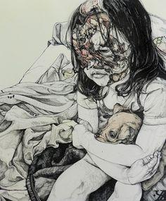 The beauty of decay as drawn by Kikyz1313