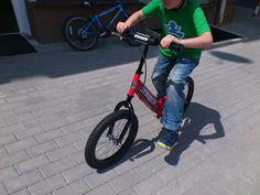 Rowerek biegowy Super Strider testowany przez siedmiolatka :-) Striders, Bicycle, Vehicles, Bicycle Kick, Bike, Trial Bike, Bicycles, Vehicle, Tools
