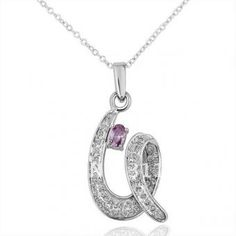 Spiral 18 Karat Gold Plated Necklace