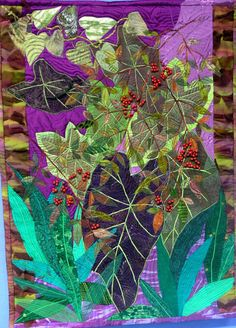 Art quilt by Deborah Schwartzman. in: Art Quilts Lowell 2007, The Brush Art Gallery (Lowell, Massachusetts)