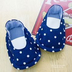 Harrison Baby Booties PDF Pattern