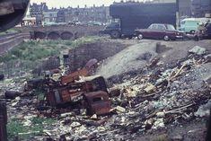 Bomb site, Club Row, 1966. Not smoky BW.. Richard Lansdown