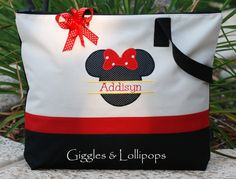 Personalized Disney cruise minnie mickey by GigglesandLollipops, $28.00