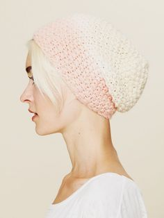 Free People Ombre Knitted Beanie at Free People Clothing Boutique