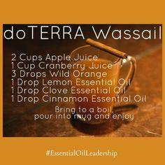 doTERRA Wassail Recipe