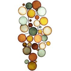 Flock of Circles -- this would be perfect over the wall wine rack