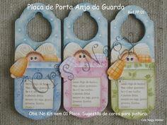 Placa de Porta Anjo da Guarda