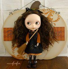 Halloween  Autumn's Spell  Blythe dress set by moofafa