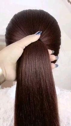 Bun Hairstyles For Long Hair, Girl Hairstyles, Braided Hairstyles, Hair Style Vedio, Cool Hair Designs, Hair Puff, Cool Braids, Hair Scalp, African American Hairstyles