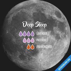 Blend Recipe: 4 drops Lavender, 3 drops Patchouli, 2 drops Frankincense #frankincenseessentialoilsleep