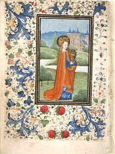 Magdalena Llibre d'Hores c.1460-1480 procedent de Flandes, segurament de Bruges