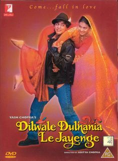 Dilwale Dulhania Le Jayenge--watched this movie three times in the theater when it first came out! Love it!
