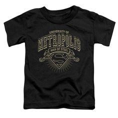 New t-shirt design added! Superman - Univer.... Order now! http://www.southofmemphis.com/products/superman-university-of-metropolis-short-sleeve-toddler-tee?utm_campaign=social_autopilot&utm_source=pin&utm_medium=pin