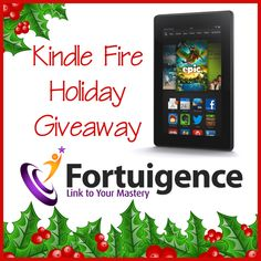 In the sprit of the season, Fortuigence is sponsoring a holiday giveaway for a free 7- inch screen Kindle Fire. Kindle Fires are great for online reading, school work, or for some fun educational play! #ihsnet #homeschool This contest runs through December 21, 2013.