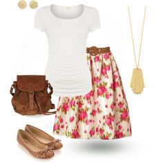 JW FIELD SERVICE | #jw #jwfashion #jw_modest_fashion Casual: In Floral/ Kinda like the skirt