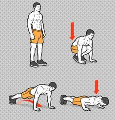 Kelly Starrett, cofounder of San Francisco CrossFit, created this brutal circuit workout to give you the muscle and mobility of a pro athlete. Fitness Workouts, Ace Fitness, Planet Fitness Workout, Mens Fitness, Fun Workouts, Cardio Workout At Home, Workout Schedule, Workout Challenge, At Home Workouts