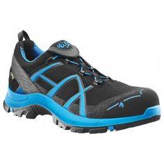 Auch Super als Freizeit Schuhe geeignet, in blau und rot erhältlich: Sicherheitshalbschuh Black Eagle 40 Low S3 - HAIX® #sicherheitsschuh #arbeitsschutzexpress #haix #heroeswearhaix