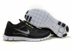 factory authentic 507ae b186a 2012 Nike Free Run 5.0 V3 Men Shoes Black Grey Black Nike Free Runs, Nike