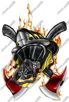 Kết quả hình ảnh cho firefighter skull
