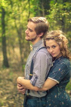 Vintage Photo Shoot. Credit: Hannah Image