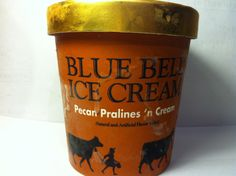 Crazy Food Dude Review: Blue Bell Pecan Pralines 'n Cream Ice Cream