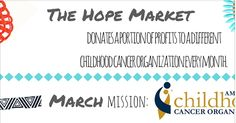 Don't forget that during the month of March, Headbands of Hope has selected ACCO as their charity to receive proceeds from accessories purchased from The Hope Market.  Please click this link to purchase your accessory from The Hope Market: http://www.headbandsofhope.com/collections/hope-market  For those of you who don't know about Headbands of Hope, they are a company that is dedicated to helping children with cancer.