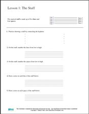 Printables Printable Music Theory Worksheets free printable note and music worksheets on pinterest opus theory worksheet