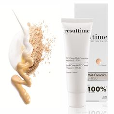 The new Multi-Corrective CC Cream – available May! Corrected complexion and tightened pores for 100% of users! #Resultime #SpringSkin #LoveYourSkin #CCCream *In vivo test performed under dermatological supervision on 21 women after 28 days' use. % of volunteers in agreement with the claim.