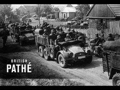 September 1, 1939 ~ Germany Invades Poland, beginning World War II. (British Pathe newsreel film clip) (2:21) [Video]