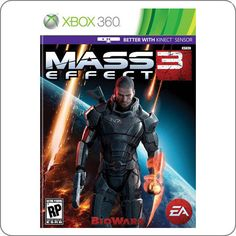 Xbox 360 Mass Effect 3 R$129.90