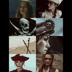 Elizabeth Hector Barbossa, Disney Love, Disney Stuff, On Stranger Tides, Elizabeth Swann, Pirate Queen, Scooby Snacks, Captain Jack Sparrow, Pirate Life