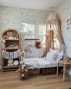 Baby Bedroom, Girls Bedroom, Toddler Rooms, Girl Bedroom Designs, Little Girl Rooms, New Room, Kids Room, Decoration, Home Decor