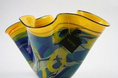 Nemtoi Hand Blown Handkerchief Vase
