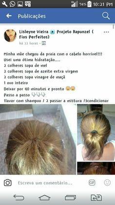 Natural Hair Care, Natural Hair Styles, Beauty Skin, Hair Beauty, Pelo Afro, How To Make Hair, About Hair, Hair Hacks, Healthy Hair