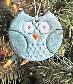 Great homemade ornaments and how-to here -> Salt dough Owl Corkboard cutouts Peg people! ▶homemade by jill: homemade holidays: this year's ornaments Salt Dough Christmas Ornaments, Homemade Ornaments, Clay Ornaments, Christmas Cookies, Christmas Crafts For Kids, Homemade Christmas, Christmas Fun, Holiday Crafts, Christmas Photos