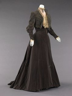 1889. Dress. Charles Frederick Worth